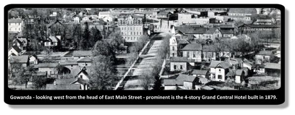East Main Strret Gowanda 1900